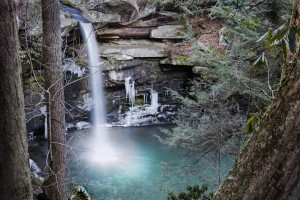 Flat Lick Falls Jackson Co KY - Parham P Baker Photography
