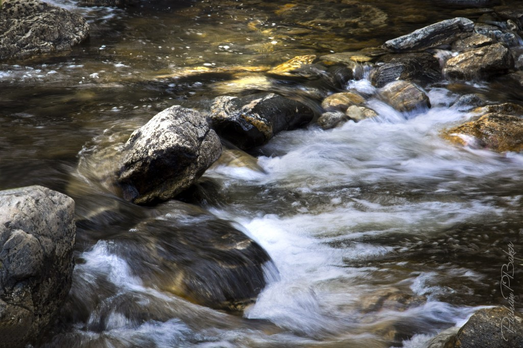 Bright Stream - Parham P Baker Photography