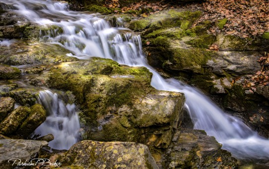Furnace Creek Cascade - Parham P Baker Photography