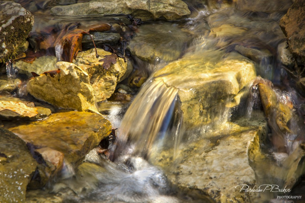 Riffle on Campsite Creek - Parham P Baker Photography