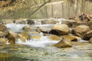 Indian Creek Riffle - Parham P Baker Photography