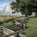 Perryville Battlefield Fence Parham P Baker Phototraphy