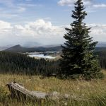Distant Dumont Lake and Mountains Parham P Baker Photography