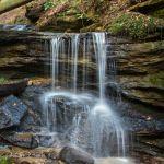 Upper Bell Falls Splashdown - Parham P Baker Photography