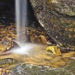 Small Drop at Bell Falls - Parham P Baker Photography