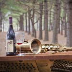 Wine and Sax in Pines - Parham P Baker Photography