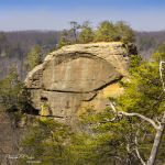 Courthouse Rock in Winter - Parham P Baker Photography